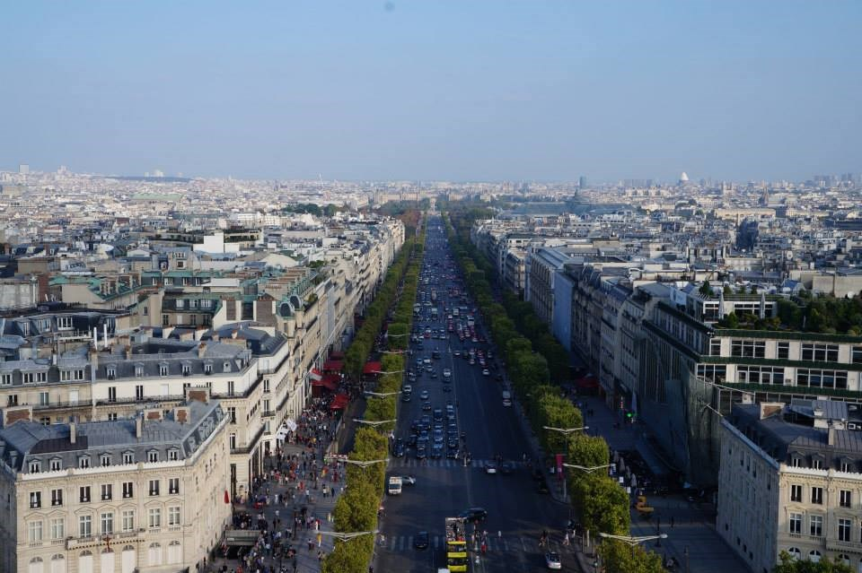 long weekend in Paris: Champs de elysse