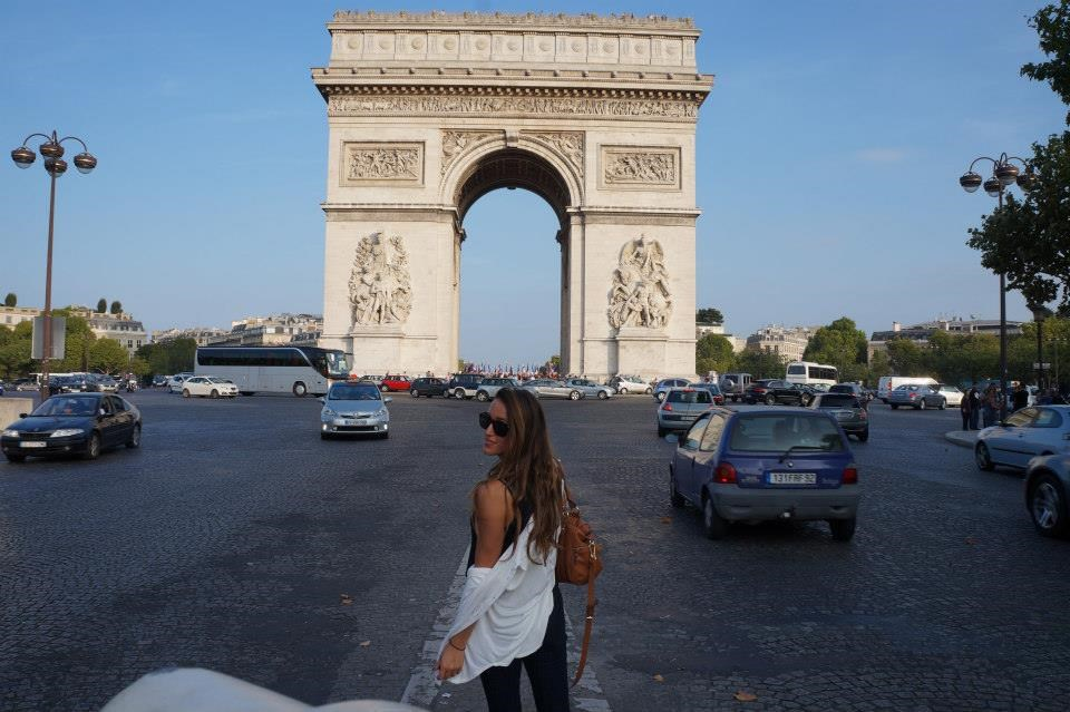 long weekend in paris: arc de triumph