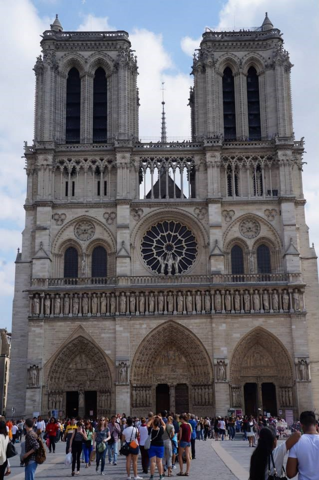 long weekend in paris: notre dam