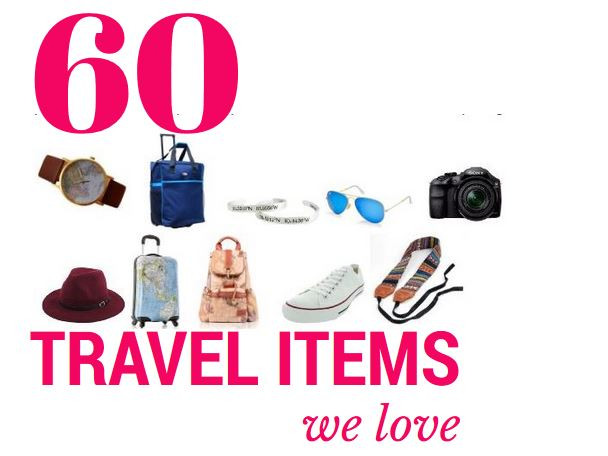 travel items we love