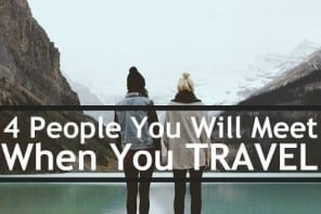 people you will meet when you travel