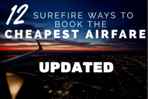 Cheapest Flights: 12 Ways To Book The Cheapest Airfare (updated)