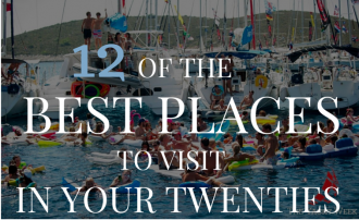 Best places to visit in your 20s