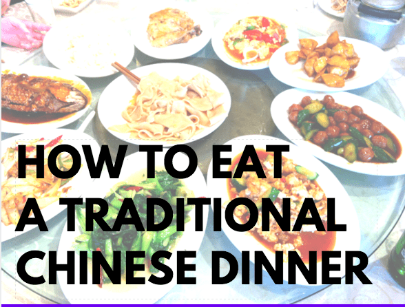 how to eat a traditional chinese dinner