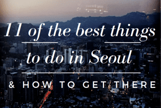 things to do in seoul
