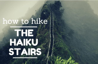 how to hike the haiku stairs