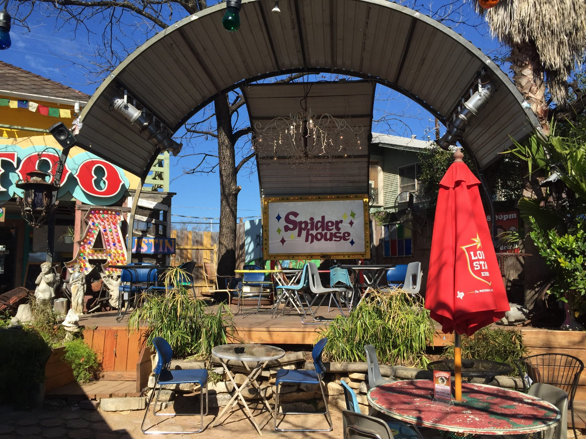 2 days in austin: spiderhouse