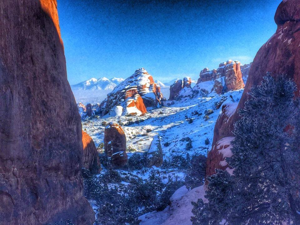 photos from Arches National Park