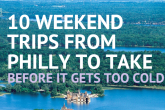 weekend trips from philly