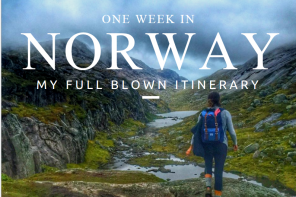 One week in norway itinerary