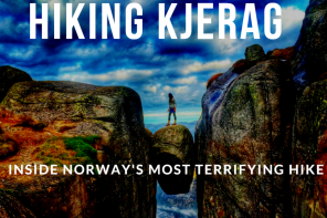 hiking kjerag norway