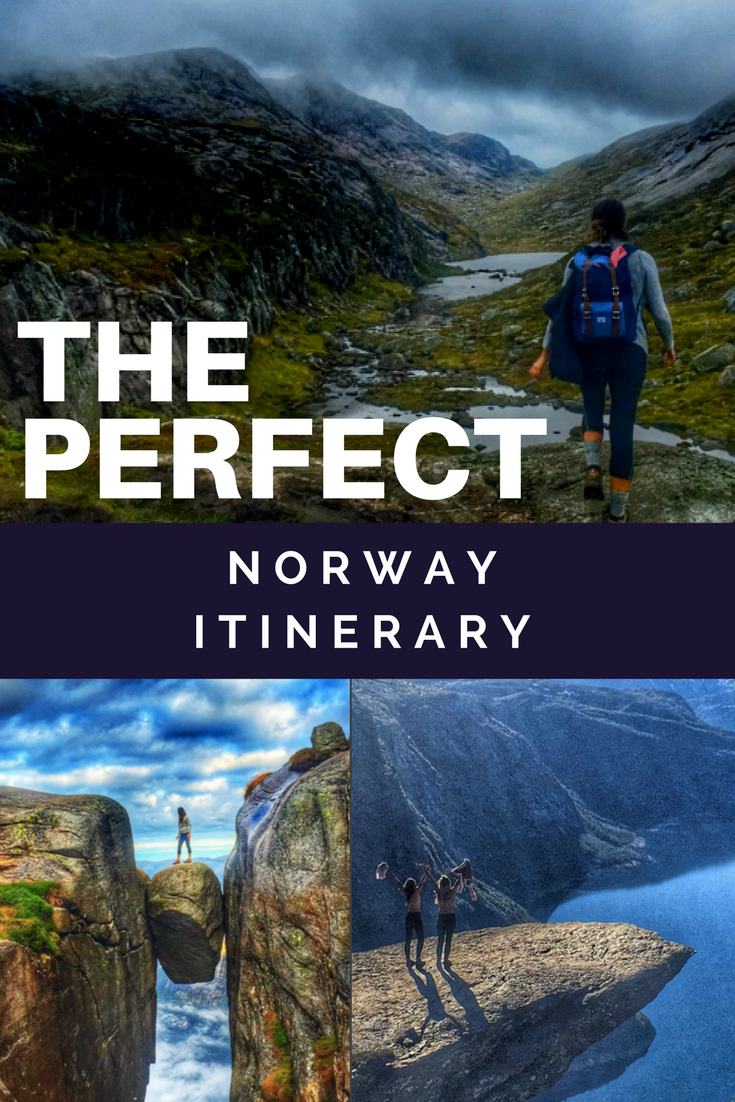 norway itinerary 1 week in norway