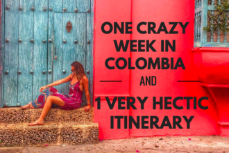 1 week in colombia itinerary