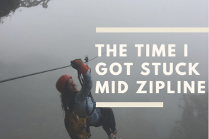 The Time I Got Stuck Mid Zipline: A Video