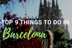 Top 9 Things to do in Barcelona
