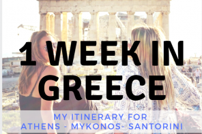 1 week in greece
