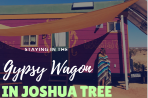 Staying in a Gypsy Wagon in Joshua Tree