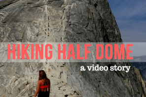 hiking half dome video