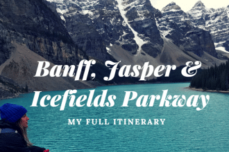 5 days in banff itinerary
