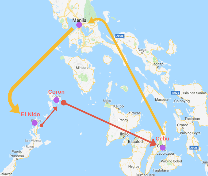 Masbate Philippines Map.Philippines Map Lust For The World